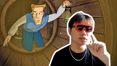 童年阴影冒险解谜小游戏,米勒山庄疑案系列一,酒窟探险