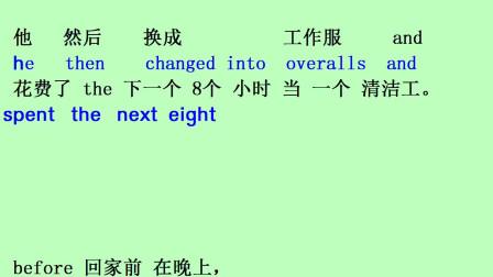 英语音标 英语单词 英语口语 新概念英语第三册 第4课02