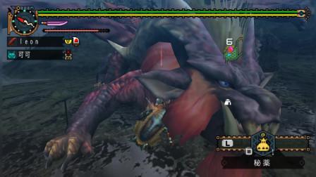 【G3-炎王龙中】怪物猎人p2g娱乐实况解说第134期