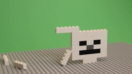 我的世界动画-搭个乐高骷髅头-World of Bricks