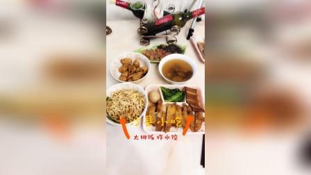 沙县小吃 炸水饺 葱油拌面 排骨茶树菇汤