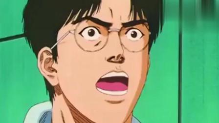 灌篮高手:樱木花道灌篮的最后一球,真是热血青春百看不厌啊