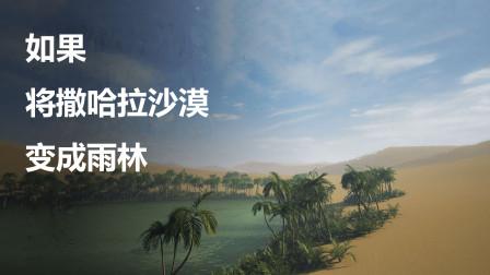 如果花费2万亿美元,将沙漠改造成雨林,地球会发生什么?