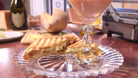 """世界上最昂贵的""""三明治"""",咬一口满嘴的黄金!"""