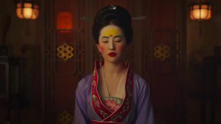 刘亦菲当窗理云鬓:迪士尼电影《花木兰》第一支预告发布