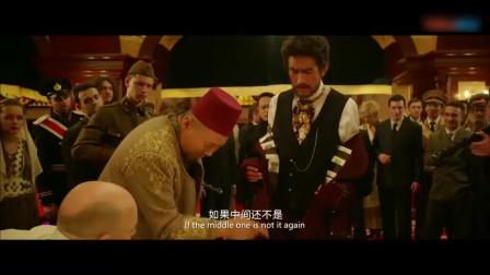 和将军玩牌还敢出老千,不是赌神级水准少耍花样,拿错牌小命不保