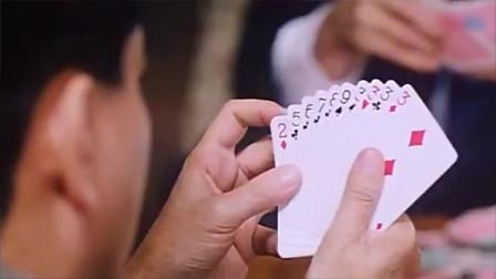 把把拿四条大牌,结果遇上极品赌神,把把拿同花顺