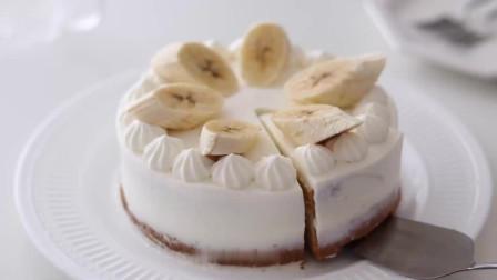 香蕉蛋糕 松软绵绵 香香甜甜 香蕉夹心 水果蛋糕get
