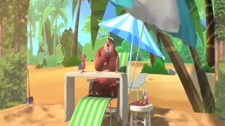 熊出没:熊大一夜成名,家喻户晓,过上明星般的生活!