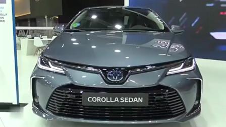 2020款丰田卡罗拉混动版,高颜值美美哒,最主要的是省油!