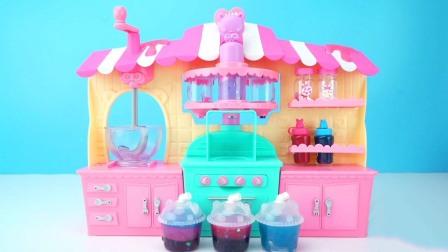 史莱姆果冻DIY分层果汁