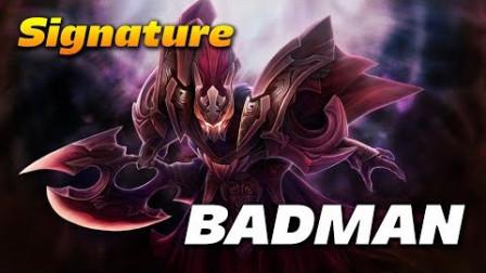 Dota2 第一视角 Badman 幽鬼 Spec - Signature Hero