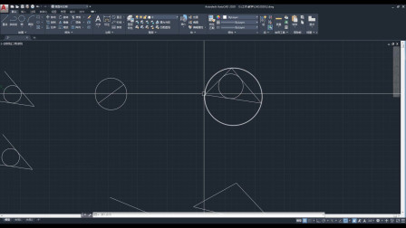 CAD教程 CAD2020入门03-圆讲解
