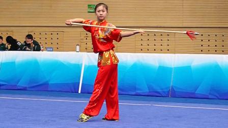 2018年全国青少年武术套路锦标赛 B组 女子枪术 020 杨凯歌(河南)第二名