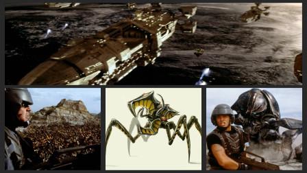 《星河战队》真人版星际争霸,星河战队大战外星昆虫