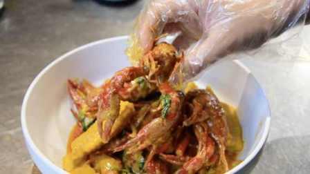 解锁咖喱小龙虾新吃法:汤汁拌饭更美味