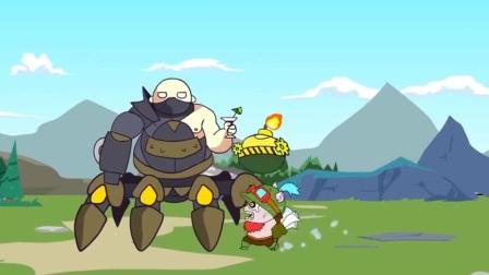 英雄联盟动画片:王者峡谷乱成一团,小提莫实力坑队友