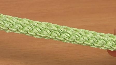 钩针花绳系列:一款特色辫绳教程,不华丽但一样好看又实用!