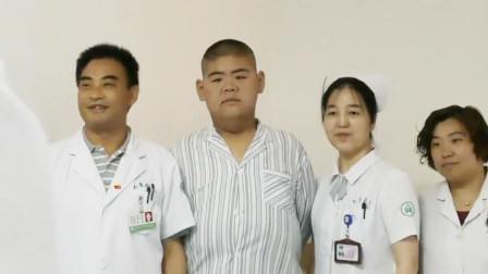 一年减掉400斤!中国第一胖还要继续减:跟打怪升级一样
