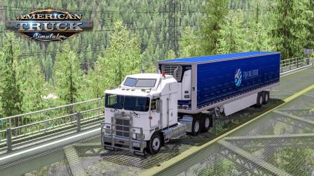 美洲卡车模拟-华盛顿州 #9:超精致车头mod 肯沃斯K100E   American Truck Simulator
