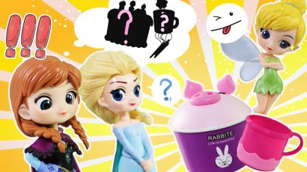 迪士尼公主们为何都紧盯着这个猪猪蛋糕和水杯?咋回事!