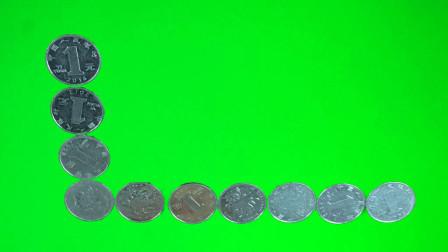 只移动一个硬币,如何才能让横竖两排硬币数量相等?揭秘后真简单