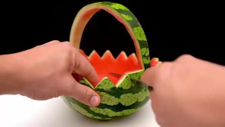 西瓜的10种创意吃法,脑洞真大,看得都馋了