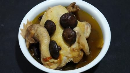 小鸡炖香菇最正宗的做法,大厨手把手教你怎么做,看完你也会做了