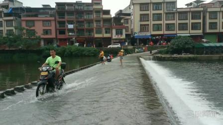 广西上林 大明山茶场 溪水清澈无比