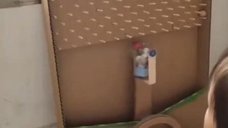 巧手老爸有创意 用纸板给女儿做玩具 每日新闻报 20190711 高清版