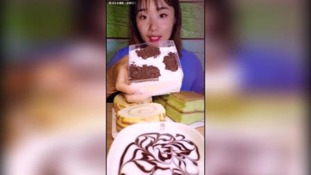 奥利奥盒子+虎皮卷+抹茶蛋糕+酸奶