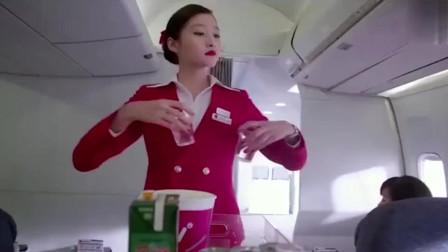 空姐的服务就这样吗?这都没人投诉吗