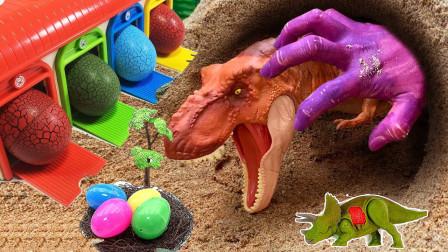 神奇山洞魔法手 变身恐龙化石蛋