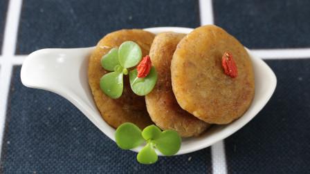 一个小饼搞定多种营养,  苹果胡萝卜饼,健康美味不添加,非常适合宝宝的辅食