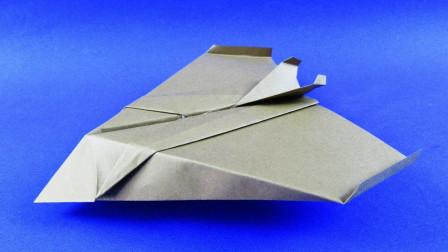 神奇的折纸隐形飞机,比普通的纸飞机厉害多了,想知道怎么折吗?