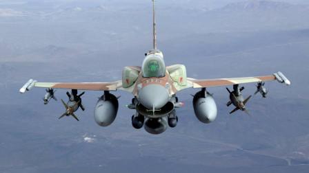 一架以色列F16被凌空打爆,飞行员死里逃生,以国防部:空袭延长两个月