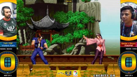 拳皇98:虽然葵花帝的拳皇13和14非常强力,可是98遇到小孩那就真是惨