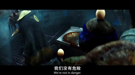 忍者神龟:这个披萨你肯定没有吃过,这是达芬奇披萨,号称:披萨之王!