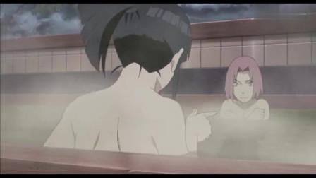 《火影忍者》雏田警告小樱不要对鸣人有意思