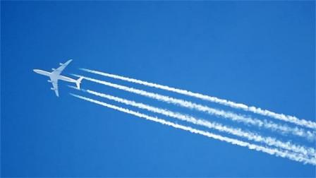飞机经过为什么会有一道白烟?看起来简单,多数人却说不上来!