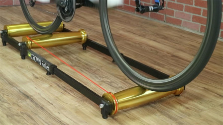"""老外发明最奇葩的""""跑步机"""",不跑人,专门用来骑自行车!"""