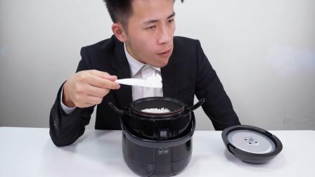 开箱60元迷你电饭锅,没想到还有这么多功能,尝试煮一下米饭
