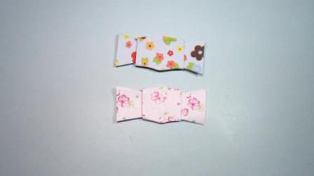 手工折纸,糖果的折法,一张小正方形纸2分钟就能学会
