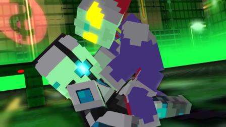 我的世界动画-奥特曼迪迦 vs 黑客-ShockMC
