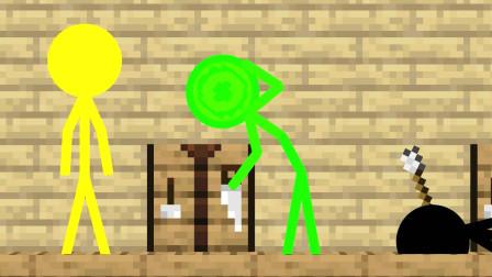 我的世界动画-火柴人学院-丧尸来袭-Pigmus