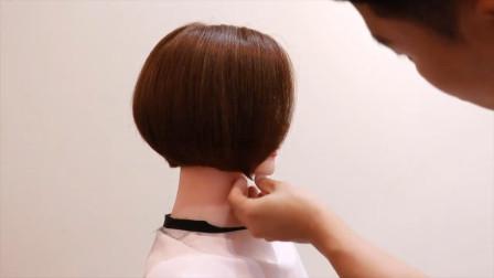 夏天发型师应该学会剪的清凉自然短发,少女专用哦