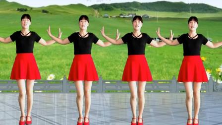 动感节奏水兵舞《中国美草原美》歌声豪迈大气,舞步带劲好看