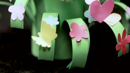 立体纸艺手工 绽放的小花