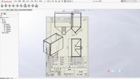 soldiworks图纸比例的修改设置技巧-溪风博客
