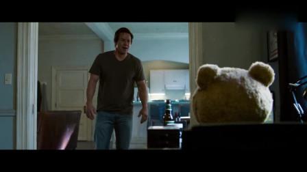 泰迪熊想用主人电脑,意外发现电脑很不纯洁,转脸就把主人训惨了